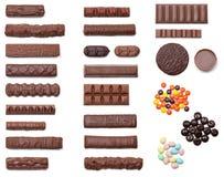 De Overbelasting van de chocolade royalty-vrije stock foto