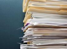 De overbelasting van het document Royalty-vrije Stock Afbeeldingen