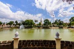 De overblijfselen waren NakhonPhanom Stock Foto's