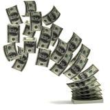 De overdracht 3d concept van het geld Royalty-vrije Stock Afbeelding