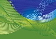 De overdracht abstracte achtergrond van gegevens royalty-vrije illustratie