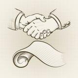 De overeenkomst Stock Afbeeldingen