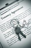 De overeenkomst van de huur Royalty-vrije Stock Fotografie