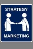 De overeenkomst van de marketing Royalty-vrije Stock Afbeelding
