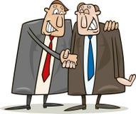 De overeenkomst van de politiek vector illustratie