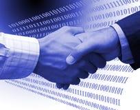 De overeenkomst van de technologie Royalty-vrije Stock Afbeeldingen