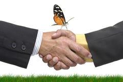 De overeenkomst van Eco Royalty-vrije Stock Afbeeldingen