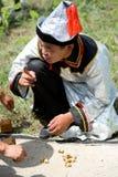 De Overeenkomst van Mongolen van de wereld stock foto