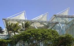 De overeenkomstcentrum van Hawaï stock foto's