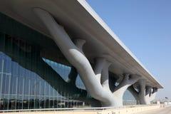 De Overeenkomstcentrum van Qatar, Doha Stock Afbeelding