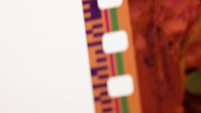De overgangseffect van het filmlek stock videobeelden