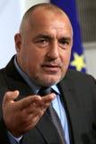 De Overheid Boyko Borisov van Bulgarije stock foto