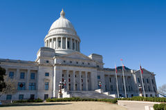 De overheid van de Staat van Arkansas royalty-vrije stock afbeeldingen