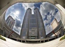 De overheids metropolitaanse bureaus van Tokyo stock afbeeldingen
