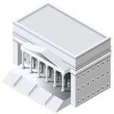 De overheidsbouw Royalty-vrije Stock Foto