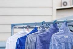 De overhemden van mensen Stock Foto