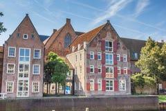 De Oversticht de construction historique dans Zwolle Photographie stock libre de droits