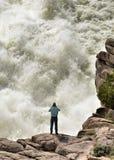 De Overstroming van het Reservoir van de verkenner Stock Foto
