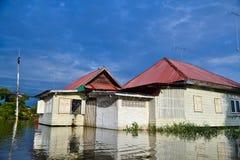 De overstroming van Thailand Royalty-vrije Stock Fotografie