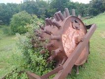 De overvloedige wilde machine van de metaalrol, stock foto