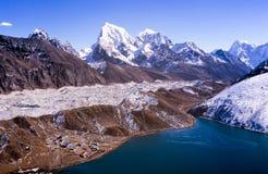 Gokyo Himalayagebergte Nepal royalty-vrije stock fotografie