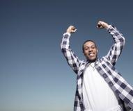 De overwinning van de tiener Stock Foto's