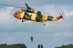 De overzeese helikopter van de Koning Stock Foto