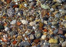 De overzeese kleine steen. Royalty-vrije Stock Foto