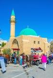 De Overzeese Moskee van Acre stock foto