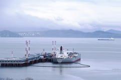 De overzeese tanker stock fotografie