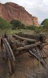 De paard-Kar van Wilde Westennen Royalty-vrije Stock Fotografie