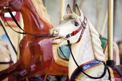 De paarden van Carnaval Royalty-vrije Stock Afbeeldingen