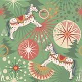 De paarden van de vakantie Royalty-vrije Stock Afbeeldingen