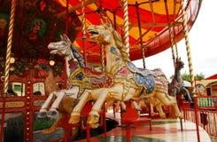 De Paarden van het kermisterrein Royalty-vrije Stock Foto's