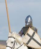 De paardridder Royalty-vrije Stock Fotografie