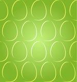 De paaseieren stellen groene naadloos in de schaduw Royalty-vrije Stock Foto