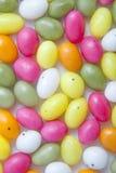 De paaseieren van het suikergoed Stock Afbeeldingen
