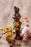 De Paashaas van de chocolade Royalty-vrije Stock Afbeelding