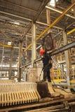 De Padaengindustrie, Mae Sot, Tak, Thailand 20 Februari, 2013: Zink Stock Foto