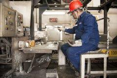 De Padaengindustrie, Mae Sot, Tak, Thailand 20 Februari, 2013: Zink Stock Foto's