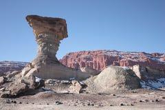 De paddestoel in de Vallei van de Maan Royalty-vrije Stock Foto's
