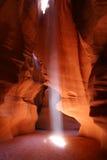 De Pagina Arizona van de Canion van de antilope Stock Afbeelding