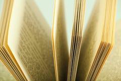 De pagina's van het boek Stock Foto's