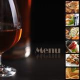 De pagina van het menu Royalty-vrije Stock Fotografie