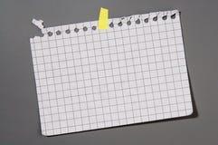 De pagina van het notitieboekje Royalty-vrije Stock Fotografie