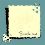 De pagina van het ontwerp grunge Royalty-vrije Stock Foto