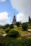 De Pagode Chiangmai Thailand van Doiinthanon Stock Foto
