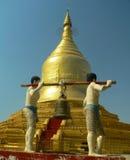 De Pagode Myanmar van Lawkananda (Birma) Stock Foto's