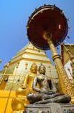 De pagode, sukhothai Thailand Royalty-vrije Stock Afbeeldingen