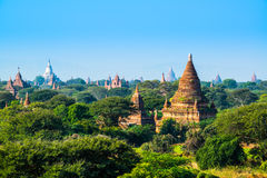 De pagode van Bagan, Myanmar Stock Foto's
